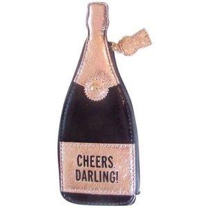 Kate Spade Champagne Bottle Coin Purse
